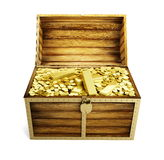 Wooden trunk Royalty Free Stock Images