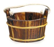 Wooden tub Stock Photography
