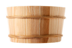 Wooden tub Royalty Free Stock Photography