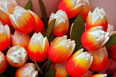 wooden tulips souvenir Royalty Free Stock Photos