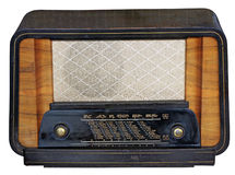 Wooden Tuner Radio Stock Photos