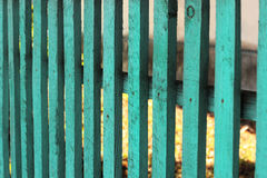 Wooden turquoise background fence. Wooden turquoise vintage  fence  background Royalty Free Stock Photo
