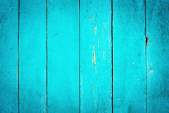 Wooden Turquoise Textured Background Royalty Free Stock Photo