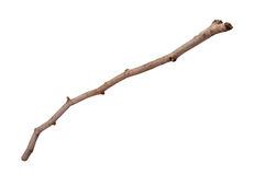 Wooden Twig Isolated Stock Photos
