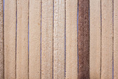 Wooden two colors lined background Stock Photos