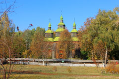 Wooden ukrainian church Royalty Free Stock Image