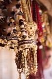 Wooden Ukrainian maces Royalty Free Stock Photo