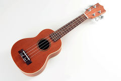 Wooden ukulele Royalty Free Stock Images