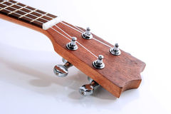 Wooden ukulele string Royalty Free Stock Photo
