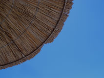 Wooden umbrella Royalty Free Stock Images