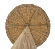 Wooden umbrellas Stock Photos