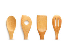 Wooden untencils Royalty Free Stock Images