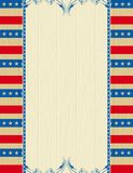 Wooden usa background Royalty Free Stock Photos