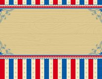 Wooden usa background Royalty Free Stock Photography