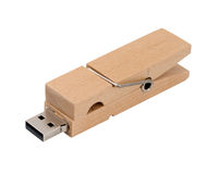 Wooden usb Stock Photos