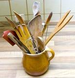 Wooden utensil Royalty Free Stock Image