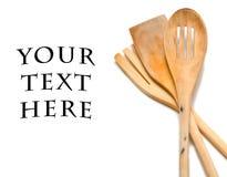 Wooden utensils Royalty Free Stock Photo