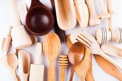 Wooden utensils Stock Image