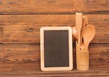 Wooden utensils Royalty Free Stock Image