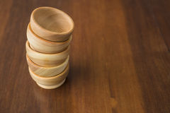 Wooden utensils. Are much nicer to use in the kitchen Stock Photography