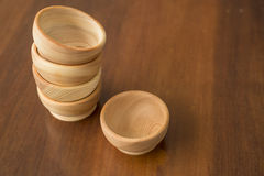 Wooden utensils. Are much nicer to use in the kitchen Royalty Free Stock Photography