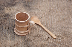 Wooden utensils Stock Photos