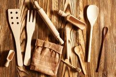 Wooden utensils Royalty Free Stock Photos
