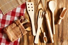 Wooden utensils Stock Image