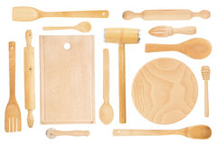 Wooden utensils Royalty Free Stock Image