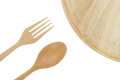 Wooden utensils Royalty Free Stock Photo