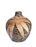 Wooden Vase Royalty Free Stock Images