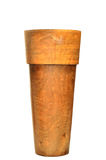 Wooden vase designed in modern style Stock Images
