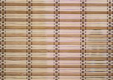Wooden venetian blind as a background Stock Image