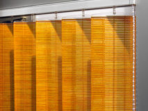 Wooden Venetian blinds Stock Image