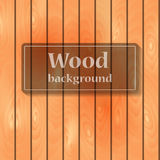 Wooden vertical board Stock Photography