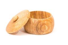 Wooden vessel Stock Photo