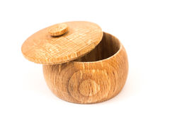 Wooden vessel Royalty Free Stock Photos