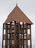Wooden view point tower Stock Photo
