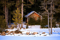 Wooden villa Royalty Free Stock Photography