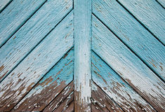Wooden vintage background. Blue background from an old board wall Royalty Free Stock Photos