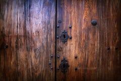 Wooden vintage background Stock Images