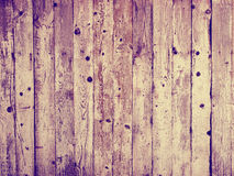 Wooden vintage background, plank wall, retro instagram style Royalty Free Stock Photo