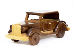 Wooden Vintage Car Royalty Free Stock Photography