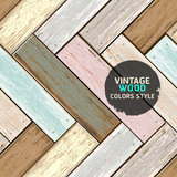 Wooden vintage color texture background. Royalty Free Stock Photos