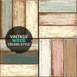 Wooden vintage color texture background. Royalty Free Stock Photo