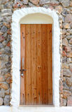 Wooden vintage door Royalty Free Stock Image