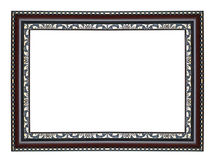 Wooden vintage frame Royalty Free Stock Image