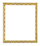 Wooden vintage frame Stock Images