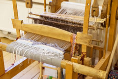 Wooden vintage loom Royalty Free Stock Photography