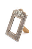 Wooden vintage style photo frame Stock Photography